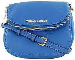 Michael Kors Beford Leather Flap Crossbody Bag Purse