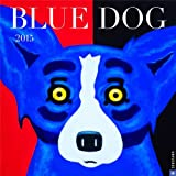 Blue Dog 2015 Wall Calendar