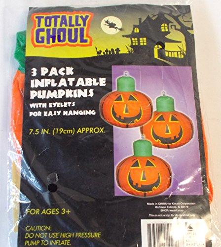 halloween-inflatable-pumpkins-halloween-decor-lot-3-nip