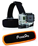 FloatPro GoPro 2-in-1 Head Strap Mount + Detachable Floaty. Floating Headstrap for Land And Water Activities. Full 1-Year Warranty.