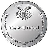 """U.S. Army Men's 0825HA09 """"Honor"""" Stainless Steel Watch"""