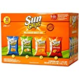サンチップス バラエティミックス 30個入り Sun Chips Multigrain Variety Mix 30bags