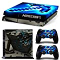 New Minecraft Sticker Set for PS4 Playstation 4 Console Controller