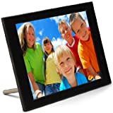 Pix-Star PXT510WR02 10.4 Inch FotoConnect XD Digital Picture Frame with Wi-Fi - Email - UPnP-Black