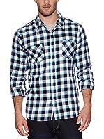 Urban Classics Camisa Hombre (Turquesa)
