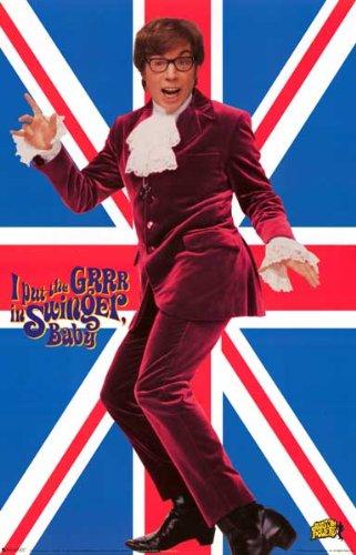 Austin Powers - Swingin' Spy - Mike Myers 22x34 Poster