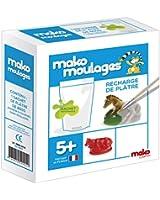 Dujardin - 39004 - Kit De Loisirs Créatifs - Mako Moulages Recharge Plâtre
