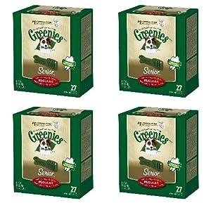 Greenies Senior 4 Mega 27oz Tubs 108oz 108 Bone Regular