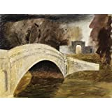The Bridge at Tyringham, Buckinghamshire, by John Piper (V&A Custom Print)