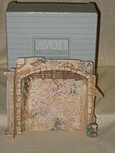 "1989 Avon "" Nativity Creche "" O Holy Night Nativity Collection"
