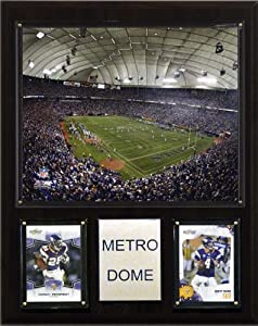 NFL Metrodome Stadium Plaque by C&I Collectables