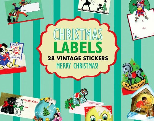 Christmas Gift Labels Sticker Box (Holiday Stickers)