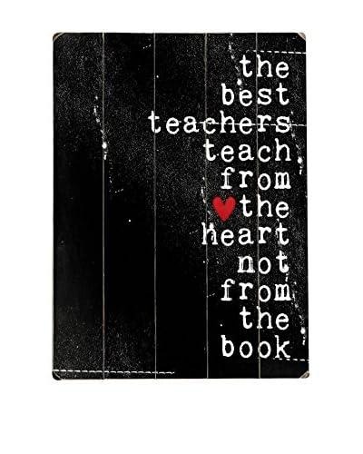 ArteHouse Best Teachers Wood Wall Décor