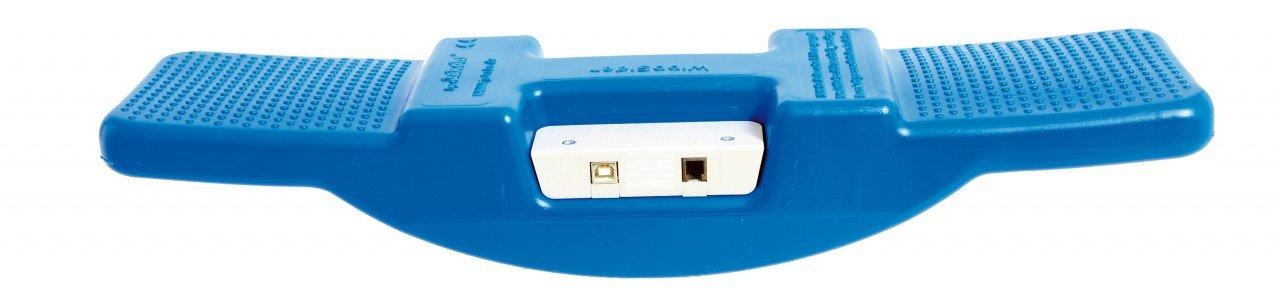 WippRacer / Kunststoff-Wippe mit innovativer Chip-Technik / 52 x 13 x 9,5 cm / USB-Anschluss + Sofware (CDROM) / max. Belastung: 120 kg / Alte günstig online kaufen
