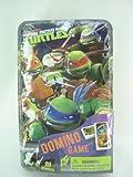 Teenage Mutant Ninja Turtles Dominos Game Set In Metal Tin