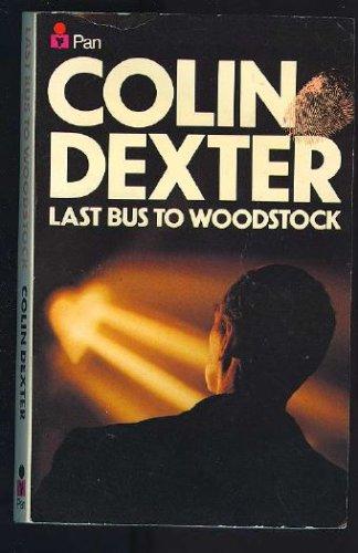 Last Bus To Woodstock, COLIN DEXTER
