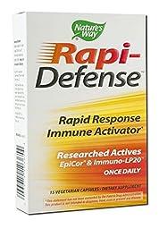 Nature\'S Way Rapi-Defense Vegetarian Capsules, Pack of 2