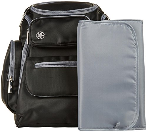 jeep perfect pockets backpack diaper bag all travel bag. Black Bedroom Furniture Sets. Home Design Ideas