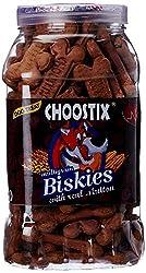 Choostix Biskies with Real Mutton Dog Treat, 500g (Jar)