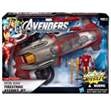 Iron Man Firestrike Assault Jet Marvel The Avengers Stark Tek Battle Vehicle