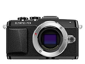 Olympus PEN E-PL7 Interchangeable Lens Camera - Black (16.1MP) 3.0 inch Touchscreen LCD