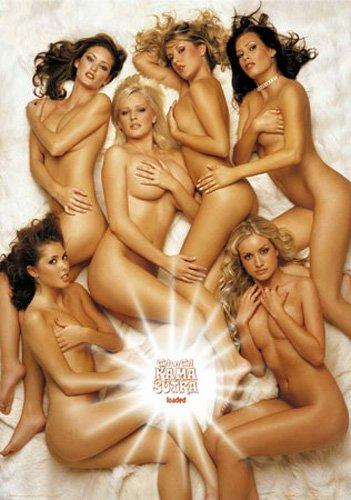 Girls - Loaded, Kama Sutra - Akt Poster Erotik Poster nackte hot Girls schöne Frauen Grösse 61x91,5