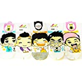 Big Bang Kpop Socks 5 Pairs Featuring Taeyang, G-Dragon, Top, Seungri & Daesung (Sesock) ~ Sesock