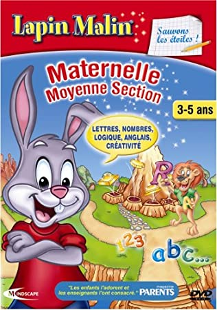Lapin Malin : Sauvons les Etoiles ! - Maternelle 2 - version 2008/09