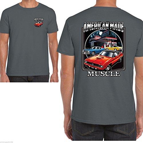 Hotrod 58 dodge ram -  T-shirt - Uomo Grey Large