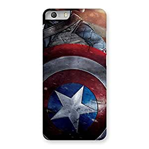 Delighted Round Multicolor Shi Back Case Cover for Micromax Canvas Knight 2