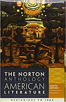 norton anthology of american literature 8th edition November 23, 2011 — $8326 $1732 there is a newer edition of this item:  the norton anthology of american literature (ninth edition) (vol b) (8).
