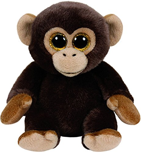 Ty Beanies BANANAS - Brown Monkey Medium
