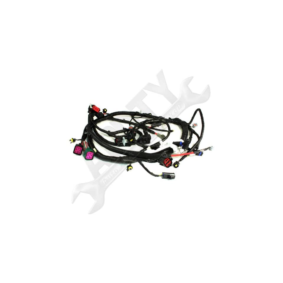 OE Ford 5C3Z12B637BA 6.0L Diesel Engine Wire Wiring Harness ...