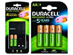 Duracell AA and AAA Battery Charger w...