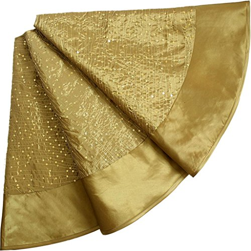 SORRENTO Glitter Sequin Centre ,Faux Silk Border,Extra Large Dia 50