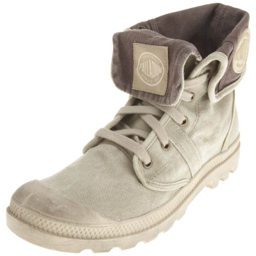 Palladium Men's Pallabrouse Baggy Dark Khaki Trainer 02478-268-M 10 UK
