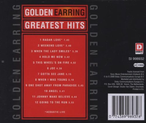 golden earring album 171 golden earring greatest hits disky 187