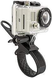 Arkon GoPro Bike Motorcycle Handlebar or Roll Bar Strap Mount for GoPro HERO4 HERO3+ GoPro HERO3 GoPro HERO2 and HERO Cameras