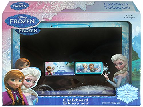 Disney Frozen Chalkboard Set in Open Box
