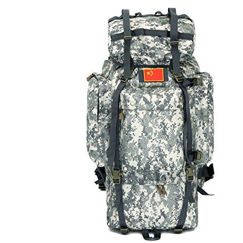 100L sac surdimensionné / extérieur / tactique / sac d'alpinisme sac à dos / sac à bandoulière camouflage-1 100L