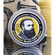 Professor Fuzzworthy Beard Care Gloss with Leatherwood Beeswax from Tasmania Australia 100% Natural
