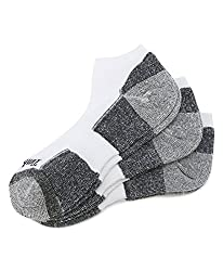 Timberland Earthkeepers Men's Low Rider Socks, White, Men's Shoe Size 9-13
