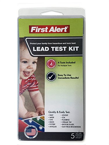 First Alert LT1 Premium Lead Test Kit (Lead Paint Test Kit compare prices)