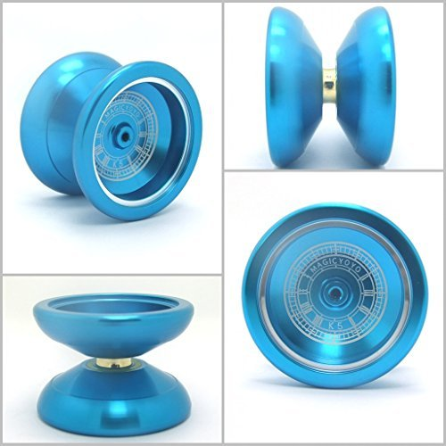 Magic Yoyo 2014 New K5 Night Angie Aluminum Alloy Yoyo K5l Buy K5 Yoyo, Presented 5 String + Yoyo Special Gloves - 1