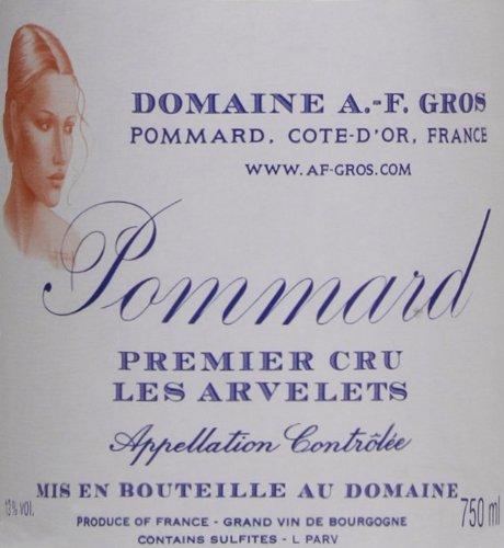 2009 Domaine A.-F. Gros Pommard Les Arvelets Burgundy Pinot Noir 750 Ml