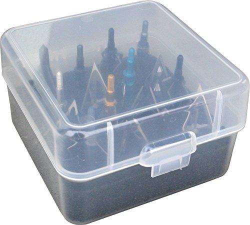 MTM Broadhead Box (Clear)