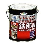 アサヒペン 油性高耐久鉄部用 グレー 1.6L