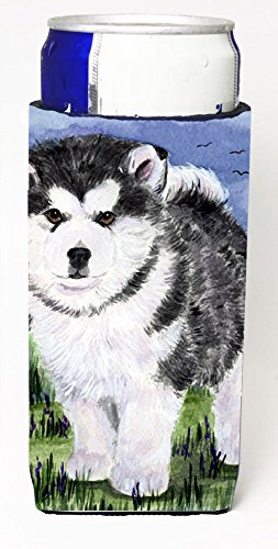 Alaskan Malamute Michelob Ultra Koozies For Slim Cans Ss8027Muk From Caroline'S Treasures front-255238