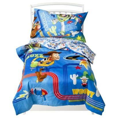 Perfect Toy Story Lazer Blast Piece Toddler Bed Set