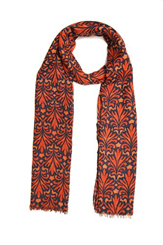 KNOT ME Knot Me Women's Red Scarf